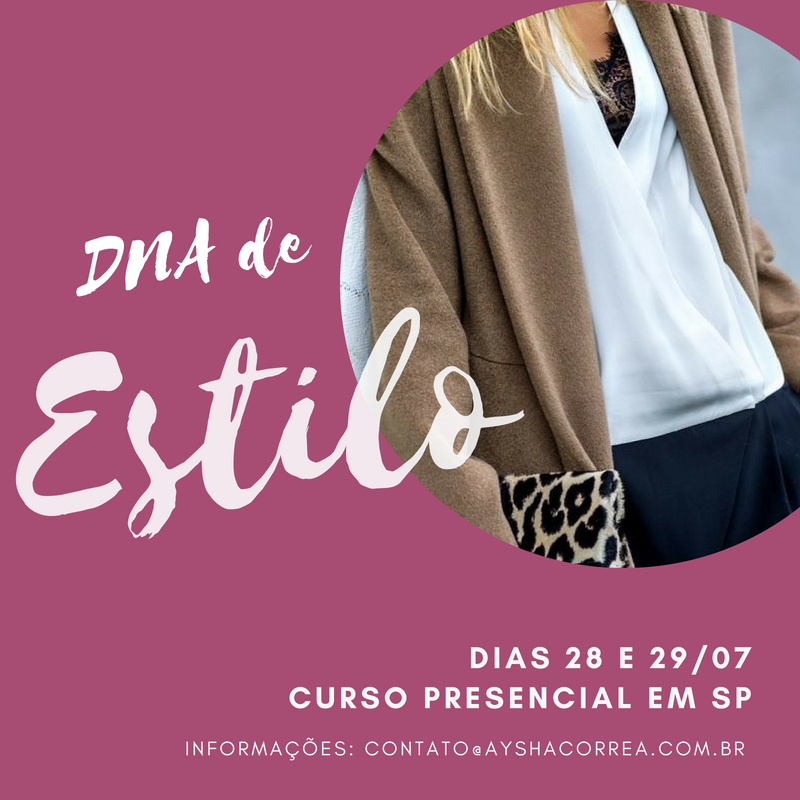 curso de estilo pessoal Aysha Correa