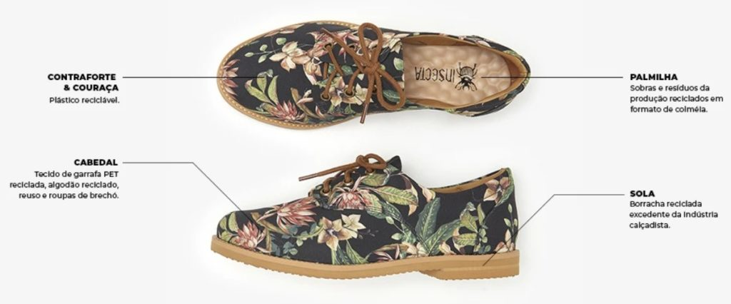 Tenis veganos insecta shoes